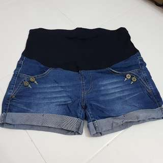Maternity Denim Shorts