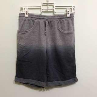 漸層 輕鬆棉短褲