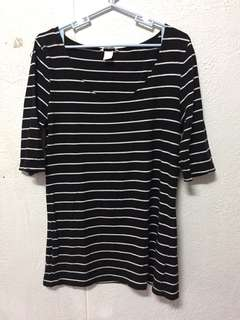 H&M stripes