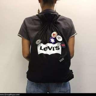 Levi's clockenflap 繩袋 襟章