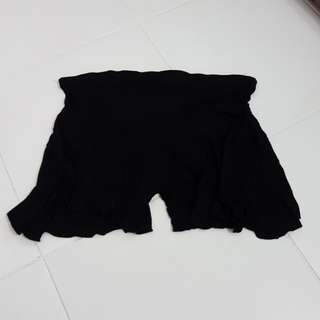 Maternity Black Shorts