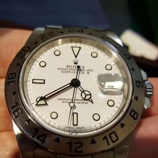 Rolex 16570 已停產 行貨有紙   尖沙咀,重慶站商場202號舖 ,留金歲月  電話:93338164