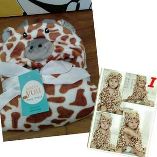 Fleece So Soft Cute Baby Towel/Blanket