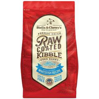 Stella & Chewy's Freeze-Dried Raw Coated Kibble Whitefish Dry Dog Food