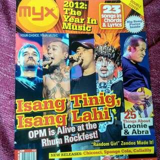 MYX MAGAZINE TANDUAY RHUM/BIGBANG