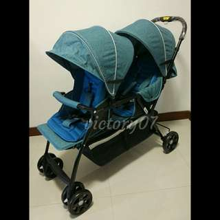 BN Baby Stroller/Twin, Double, Tandem (FREE DELIVERY)
