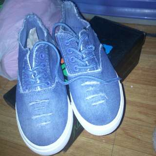 ON HAND DENIM SHOES
