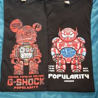 Popularity G-shock, Bay Max T shirt (XXL)