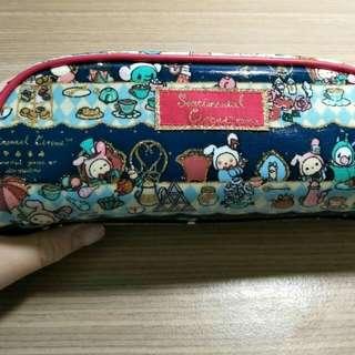 全新 正版日本憂傷馬戲團防水  筆袋💜