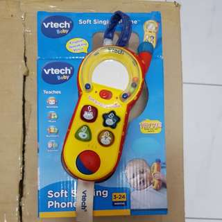 Vtech soft singing phone