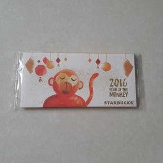 Starbucks Monkey Zodiac red packets