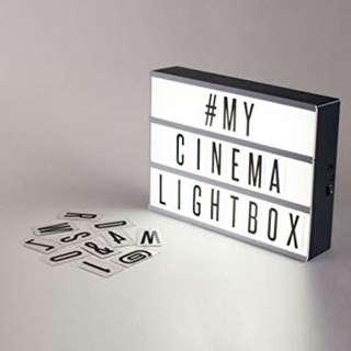 Light Box for rent $5 (4 days)