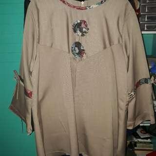 Big Blouse women batik motif