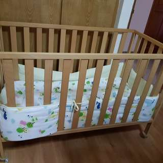 Preloved Mothercare Baby Cot