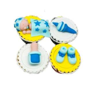 Homemade Exclusive Designed New Born Baby Cupcake !!