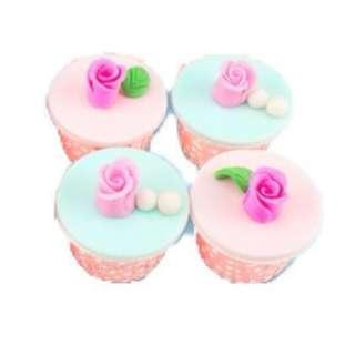 Homemade Delicious Roses Cupcake !!