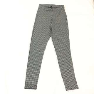 TRENDY HOUNDSTOOTH PANTS