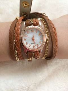 Women Watch Quartz Movement Retro Bracelet