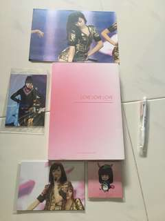 SNSD TIFFANY Korea Fanmade book