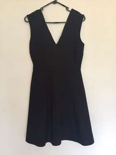 Asos new black dress size 8