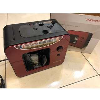 🚚 【THOMSON】自動研磨咖啡機(TM-SAL01DA)