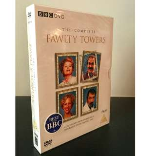 The Complete Fawlty Towers 3-Disc Dvd Brand New & Factory Sealed