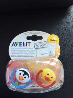 Avent Pacifiers (brand new)