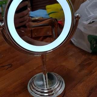 Carmen dual side illuminated mirror
