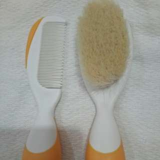 Chicco hair brush/comb