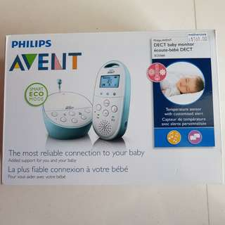 BN Philips Avent DECT Baby Monitor SD560