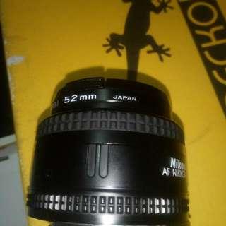 Nikon lens 50mm f1.8