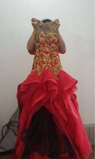Gown by designer nancy warren surabaya size S-M
