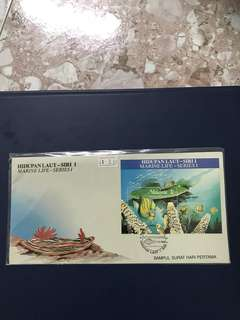 Malaysia Miniature Sheet FDC As in Pictures