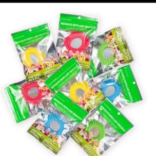 10 pcs Mosquito Repellent Band
