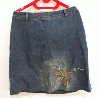 Denim Skirt (Rok)