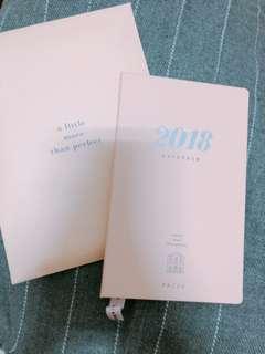 PAZZO 2018日程本 行事曆