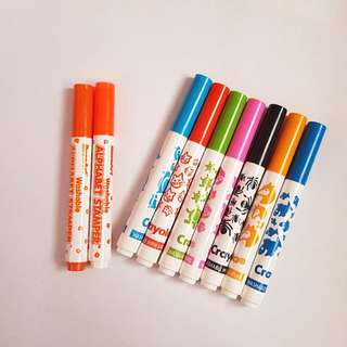 BULK LOT Crayola Fun Stamps Marker