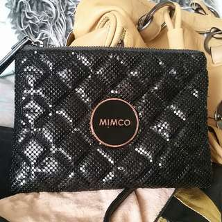 ❣Like New Mimco Mesh Pouch