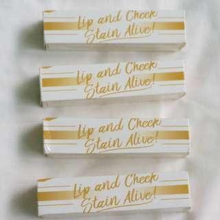 Skin Genie Lip and Cheek Stain Alive! with FREEBIES