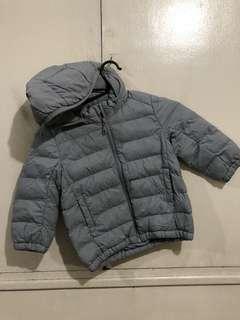 Uniqlo Bubble Jacket with Detachable Hood