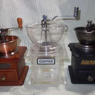 Assorted Manual Coffee Grinder
