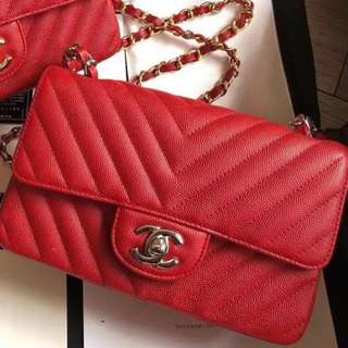 Chanel Chevron Bag