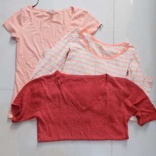 Bundle: H&M and Cotton On Top