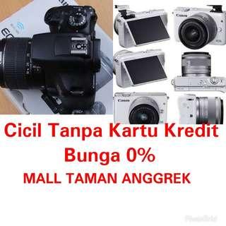 Camera Canon M10 Cicil Tanpa Kartu KreditProses 3 Menit
