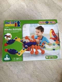 ELC build it wacky animals