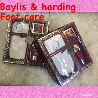 Baylis & hardy foot care