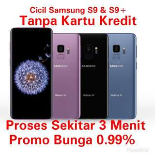 Samsung S9 Kredit Bunga 0.99% TanpaKartuKredit MTA