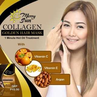 Merry sun collagen and keratin treatment