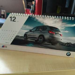 Official BMW 2017 Calendar