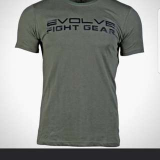 EVOLVE ARMY GREEN TEE
